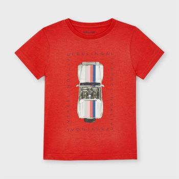 Boys Mayoral T Shirt 3039 Red