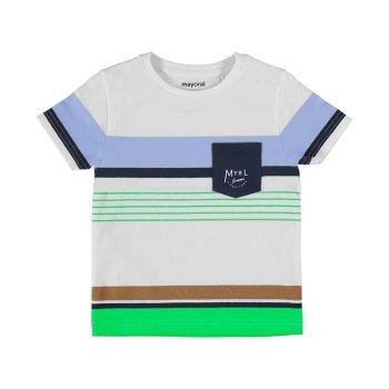 Boys Mayoral T Shirt 3038 Green