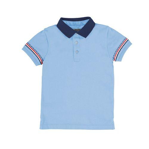 Boys Mayoral Polo Shirt 3103 Blue