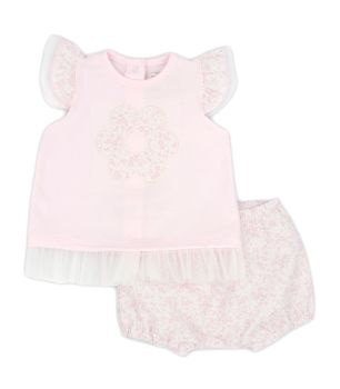 Girls Rapife T Shirt and Bloomers 4413
