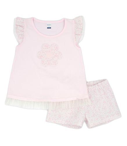 Girls Rapife T Shirt and Shorts 4451