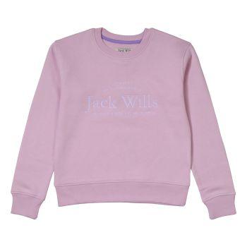 Girls Jack Wills Sweater JWS5115 Pink