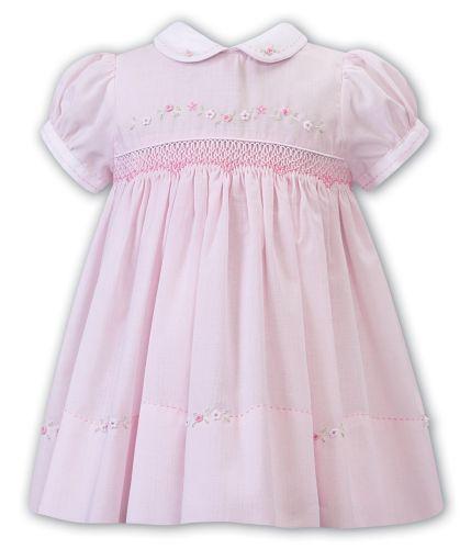 Girls Sarah Louise Dress 012237 Pink