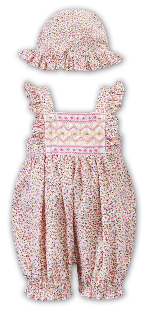 Girls Sarah Louise Romper and Hat 012393
