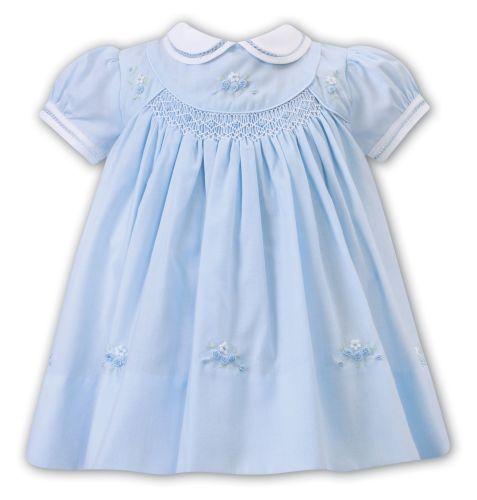 Girls Sarah Louise Dress 012224 Blue
