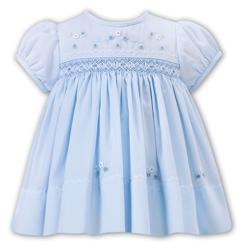Girls Sarah Louise Dress 012226 Blue