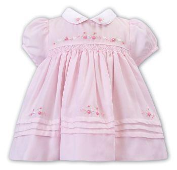 Girls Sarah Louise Dress 012240 Pink