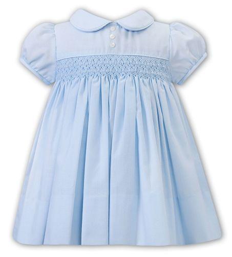Girls Sarah Louise Dress 012242 Blue