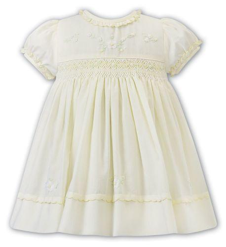 Girls Sarah Louise Dress 012257 Lemon