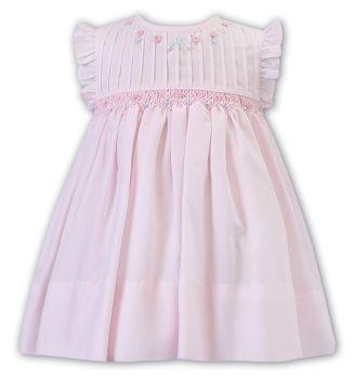 Girls Sarah Louise Dress 012283 Pink