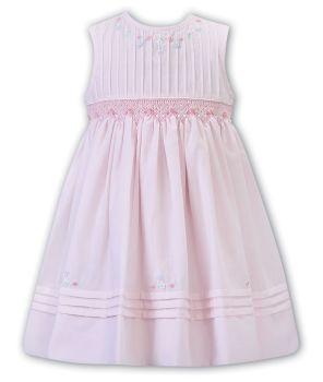 Girls Sarah Louise Dress 012284 Pink