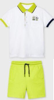 Boys Mayoral Polo Shirt and Shorts 3107 611