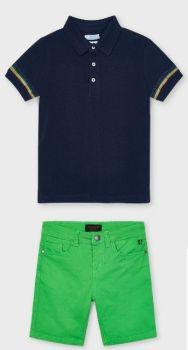 Boys Mayoral Polo Shirt and Shorts 3103 204