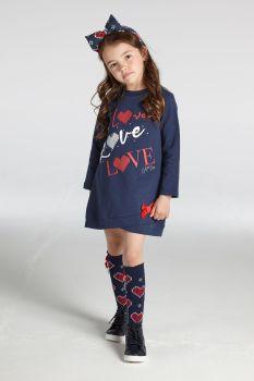 Girls A*Dee Regina Sweater Dress W212705