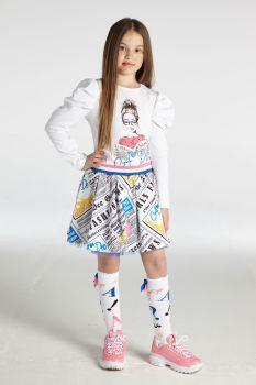 Girls A*Dee Selena Skirt Set W213518