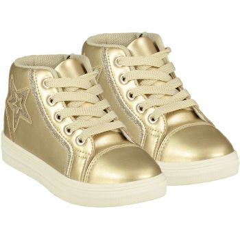 Girls A*Dee Trainers W21501 Gold Star