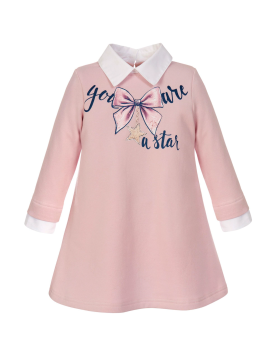 PRE ORDER Girls Balloon Chic Pink Dress 260
