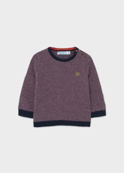 Boys Mayoral Sweater 2375 Bordeaux 55