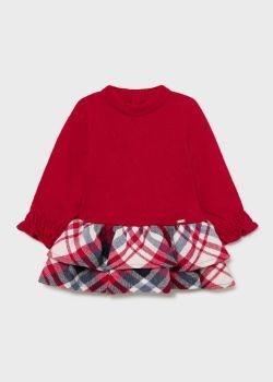 Girls Mayoral Dress 2908 Raspberry 44