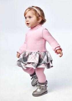 Girls Mayoral Dress 2908 Rose 42