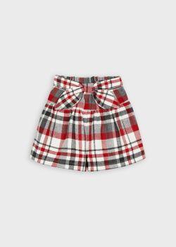 Girls Mayoral Shorts 4910 Red 27
