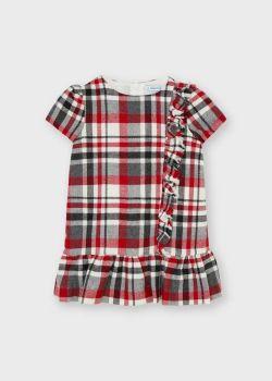 Girls Mayoral Dress 4934 Red 27