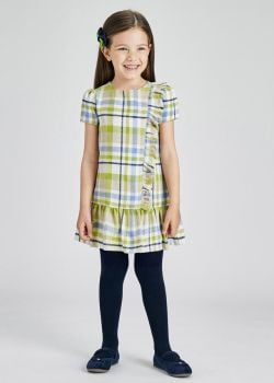 Girls Mayoral Dress 4934 Olive 25