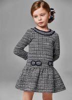 Girls Mayoral Dress 4915 Navy 65