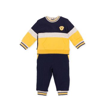 Boys Tutto Piccolo Top and Trousers 2595 Yellow and Navy