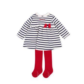 Girls Tutto Piccolo Dress and Tights 2794