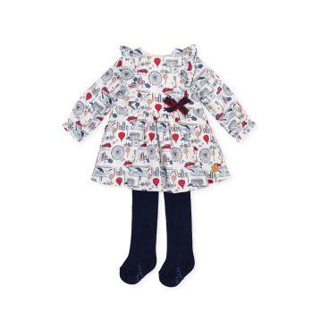 Girls Tutto Piccolo Dress and Tights 2227