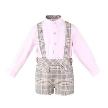 Boys Miranda Pink and Grey Set 139