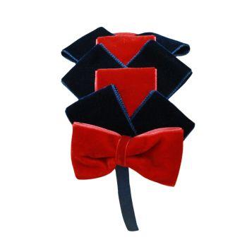 Girls Miranda Navy and Red Headpiece 200