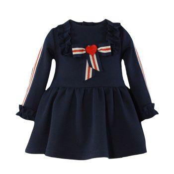 PRE ORDER Girls Miranda Navy Dress 163