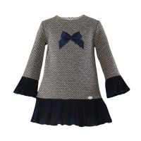 Girls Miranda Navy Dress 260
