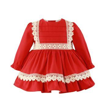 Girls Miranda Red Dress 153