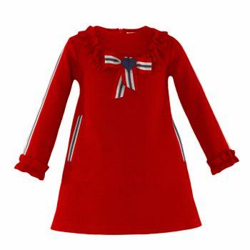 PRE ORDER Girls Miranda Red Dress 263