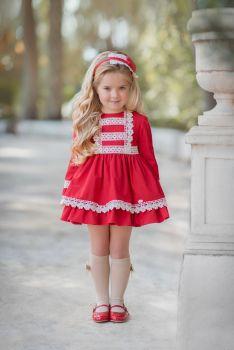 Girls Miranda Red Dress 253