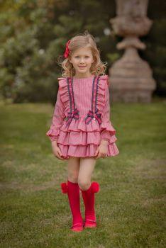 Girls Miranda Red Dress 272