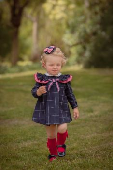 Girls Miranda Navy Dress 171