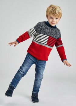 Boys Mayoral Sweater 4358 Red 33