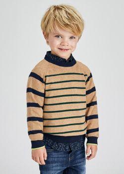 Boys Mayoral Sweater 4359 Toasted 42