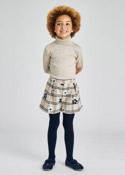 Girls Mayoral Shorts 4208 Almond 94