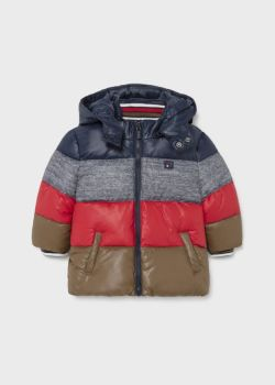 Boys Mayoral Coat 2419 Red 49