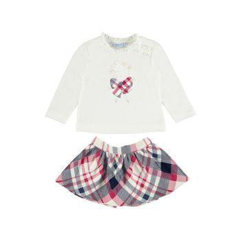 Girls Mayoral Top and Skirt Set 2930 Navy 12