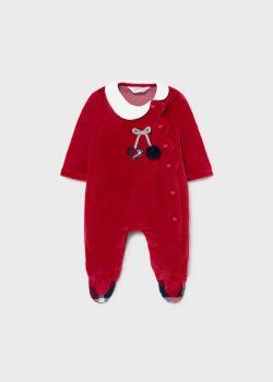 Girls Mayoral Babygrow 2667 Red 51