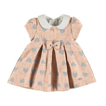 Girls Mayoral Dress 2813 Dusty Pink 34