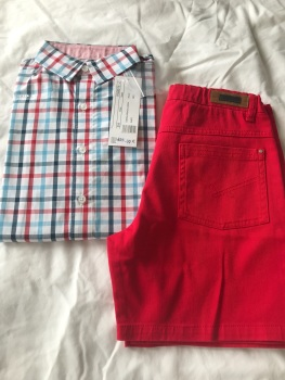 Boys Tutto Piccolo Shirt and Shirts Set Age 8 years