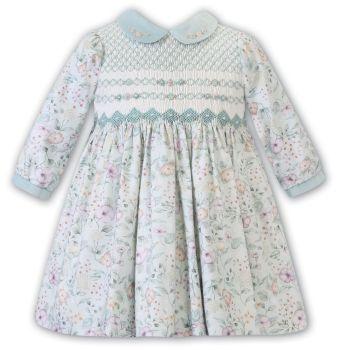 Girls Sarah Louise Dress 012520 Mint
