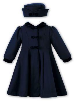 Girls Sarah Louise Coat and Hat 012567